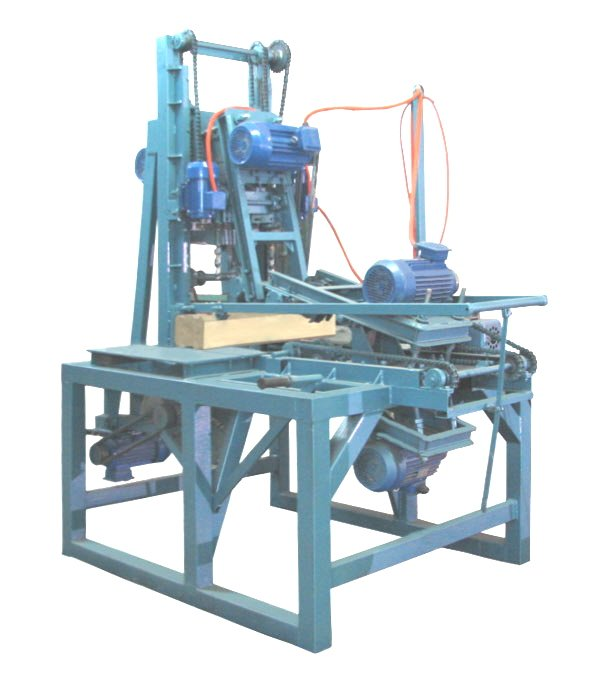 Woodlandia MFN-1 timber notching, cross-cut, drilling station