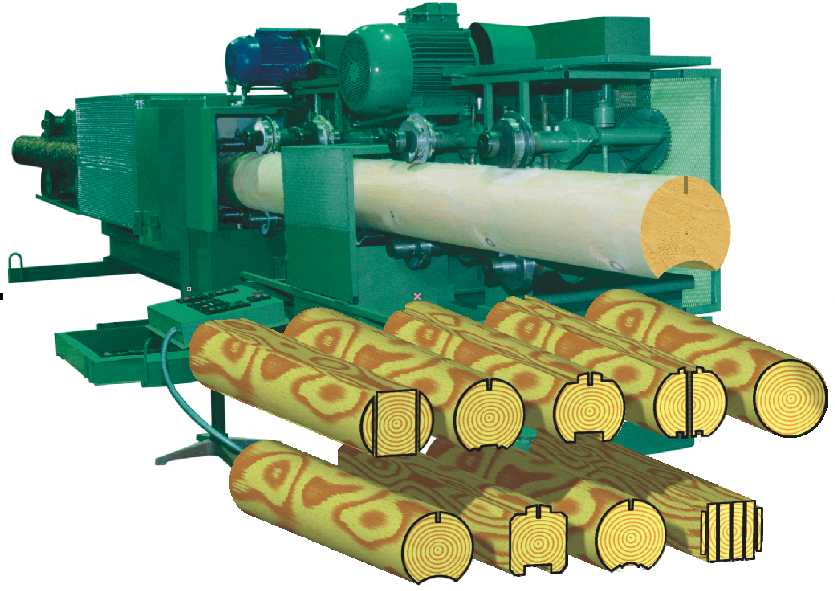 Woodlandia log moulder