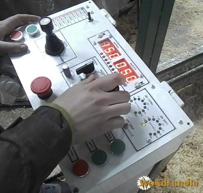 Duo-550 sawmill control panel