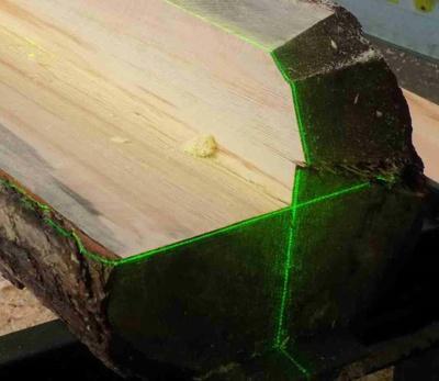 Duo-550 sawmill lasers in work