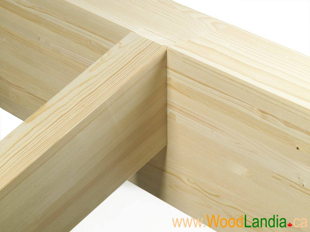 Rafter on squared ridge