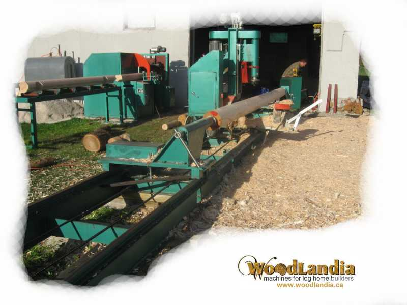 Log Lathe