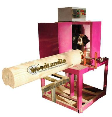 Woodlandia LJ-1M log-end slot milling machine