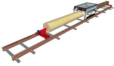 Woodlandia CLP-1 Chambers Log Peeler