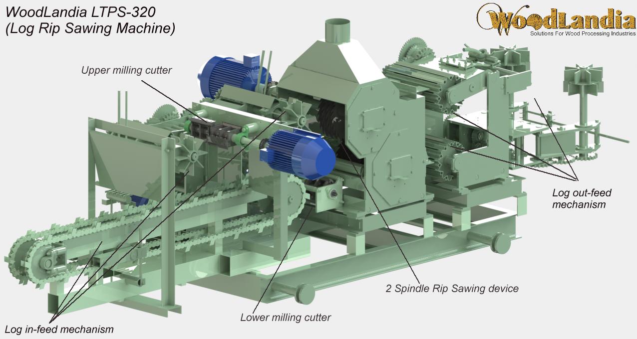 Woodlandia LTPS-320 CAD model 01