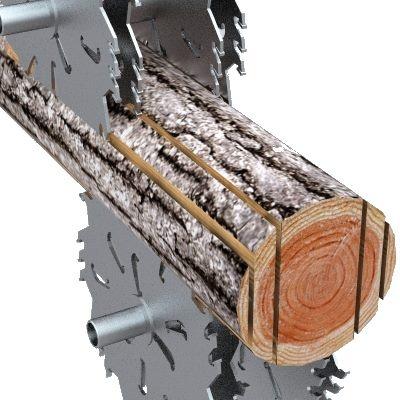 LogRipper milling principle