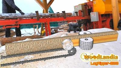 LogRipper-200 milling sticks
