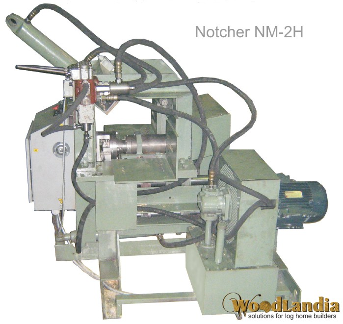 NM-2H log notching machine