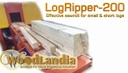 New LogRipper-200 YouTube video has been released