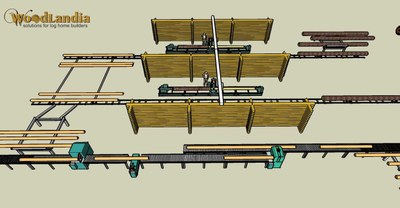 RM-2 layout idea with rail cart system pic-10